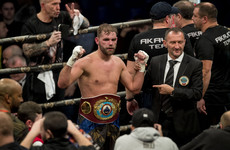 Saunders 'vacates' world title after being refused Massachusetts licence due to doping violation