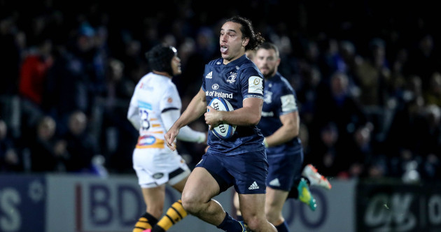Watch: Lowe hammers home Leinster's advantage with brilliant individual try
