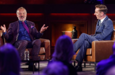 Graham Norton delivered a subtle burn on Ryan Tubridy during the Late Late in London