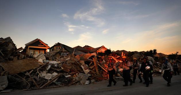 Searchers find body in hurricane-stricken town but 'still haven't gotten into the hardest-hit areas'