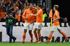 Liverpool pair Wijnaldum and Van Dijk on the scoresheet as Netherlands embarrass Germany
