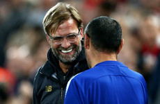 'Why are you smiling?': Sarri reveals bemusement at fun-loving Klopp after Hazard goal
