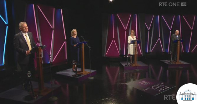 As it happened: Higgins and Gallagher criticised for 'no shows' at first TV debate