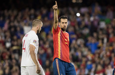 Sergio Busquets is no better than Eric Dier, according to Sam Allardyce