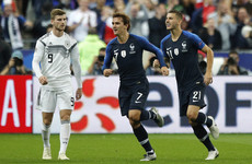 Griezmann delivers Löw blow as World Cup winners reign supreme in Paris against Germany