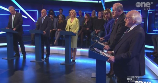 LIVE: Casey comes under attack over Traveller comments in first six-way TV debate