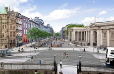 Plans to turn Dublin's College Green into a car-free plaza have been rejected