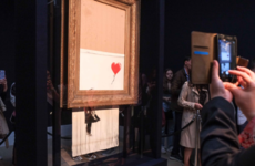 Banksy has shared BTS footage of the moments leading up to that infamous 'shredding'