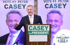 Peter Casey to 'think carefully about whether to continue' in presidential race