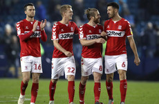 Boro beat Sheffield Wednesday to top Championship