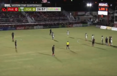 Didier Drogba scores stunning 40-yard free kick in US play-off win