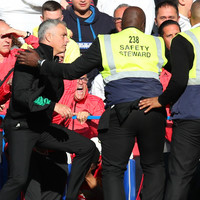 Watch: Mourinho in furious bust-up with Chelsea staff after late drama