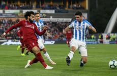 LIVE: Huddersfield Town v Liverpool, Premier League