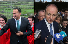 Amidst election threats, opinion poll shows Fine Gael ahead with Fianna Fáil gaining ground