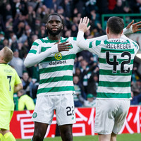 Celtic survive late scare to seal third league victory in succession