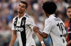 Juve's winning run ends despite record Ronaldo goal