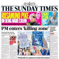 Theresa May to face a 'show trial': The UK Sundays report Tory party turmoil