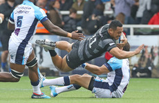 Chick scores 89th minute try after 39 phases as Newcastle snatch late win over Montpellier