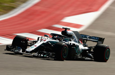 Hamilton denied title party as Raikkonen wins in Austin