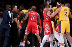 Rondo, Paul and Ingram slapped with bans after Lakers-Rockets fight