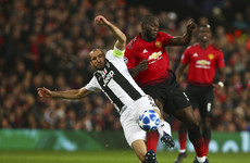 LIVE: Man United vs Juventus, Champions League