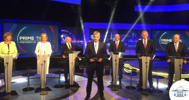 LIVEBLOG: Áras race enters endgame as all six candidates take part in RTÉ Prime Time debate
