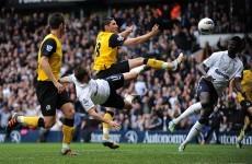 As it happened: Tottenham v Blackburn, Premier League