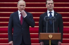 In photos: Putin inaugurated for third time amid Moscow protests