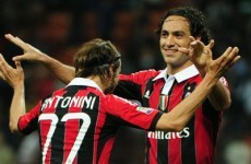 Wave goodbye: Footballing legend Nesta set to leave Milan