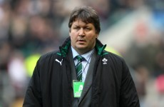 Smal mercies: Ireland forwards coach cleared for travel