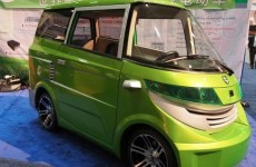 Electric cars get a vintage twist...
