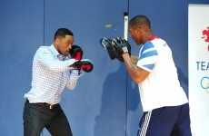London 2012, Big Willie style: Smith tries his hand at some Olympic sports
