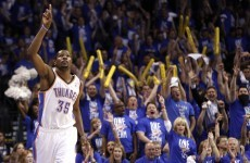 NBA wrap: Thunder storm home, Celtics cruise