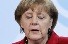 Did Angela Merkel say Greece should hold a referendum on euro membership?