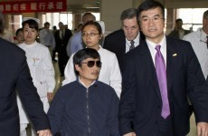 Chinese activist who fled house arrest heads to US