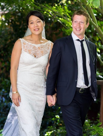 Facebook's Mark Zuckerberg weds on day after IPO