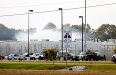 US prison on lockdown after guard death during riot