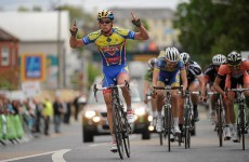 Rás 2012: Lang wins the sprint to Gort