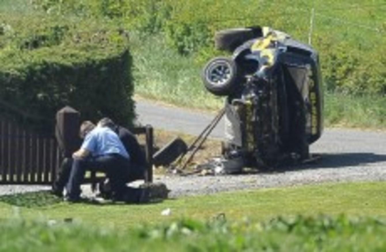 Gardaí investigate fatal Cavan rally crash · TheJournal.ie