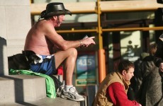 The (sun) burning question*: Is it okay for men to take their shirts off in public?