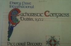 Library waives €4,160 fine after return of 'lost' 1932 Eucharistic Congress book