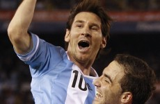 VIDEO: Think Messi isn't as good for Argentina? Think again