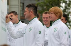 In pictures: Ireland's Euro hopefuls enjoy their first day in Poland