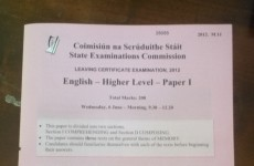 Leaving Cert students asked to reflect during 'challenging' English exam