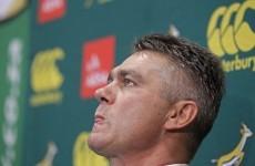 Springboks name uncapped trio for England clash