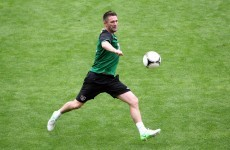 VIDEO: Robbie Keane and Glenn Whelan play Gaelic football in Poland...