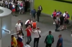 VIDEO: Russian hooligans attack Wroclaw stadium stewards