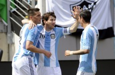 VIDEO: Messi hits a hat-trick against Brazil