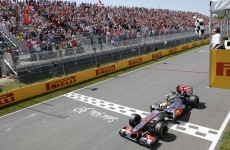 Hamilton takes Canadian Grand Prix