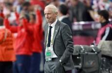 Trapattoni rues 'offside' decision against Irish